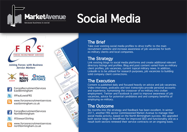 social case study report sample
