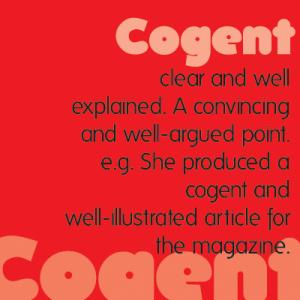 Cogent Thesis Definition