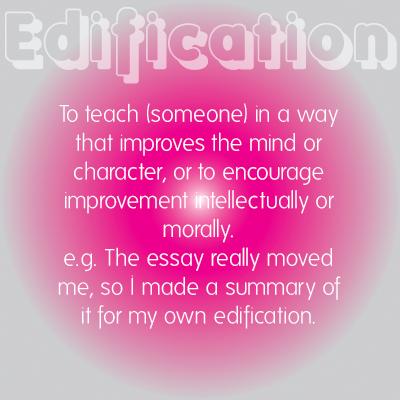 Edification - Copywriting and social media content marketing