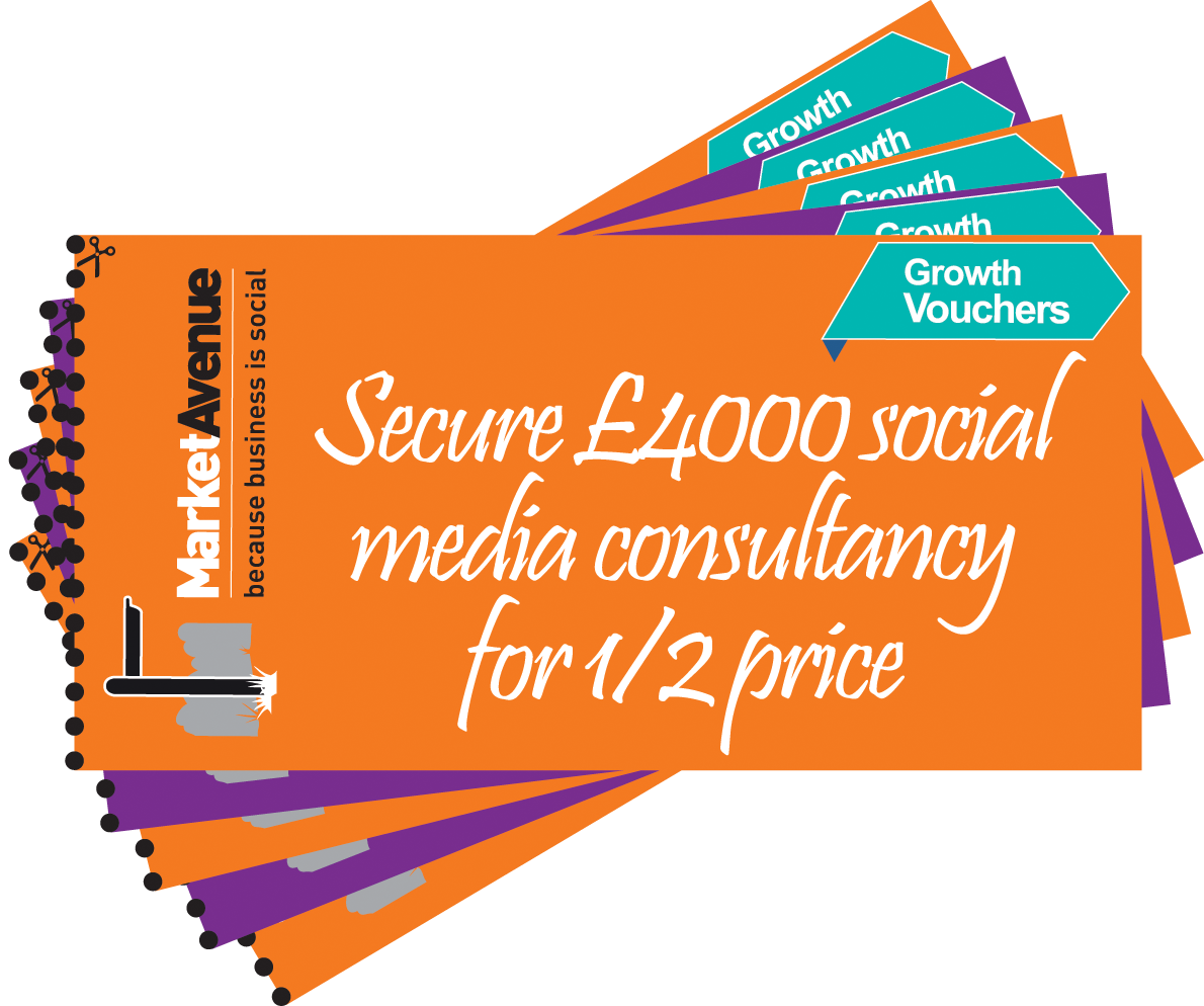 Growth Vouchers | Social Media Consultancy | Market Avenue Limited
