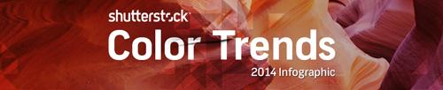 Shutterstock colour trends 2014 | Market Avenue | Copywriting