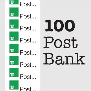 Market Avenue Content Packages 100 post bank