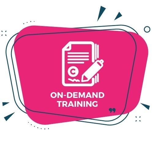 On-Demand Copywriting Training MAL ICONS 500x500px